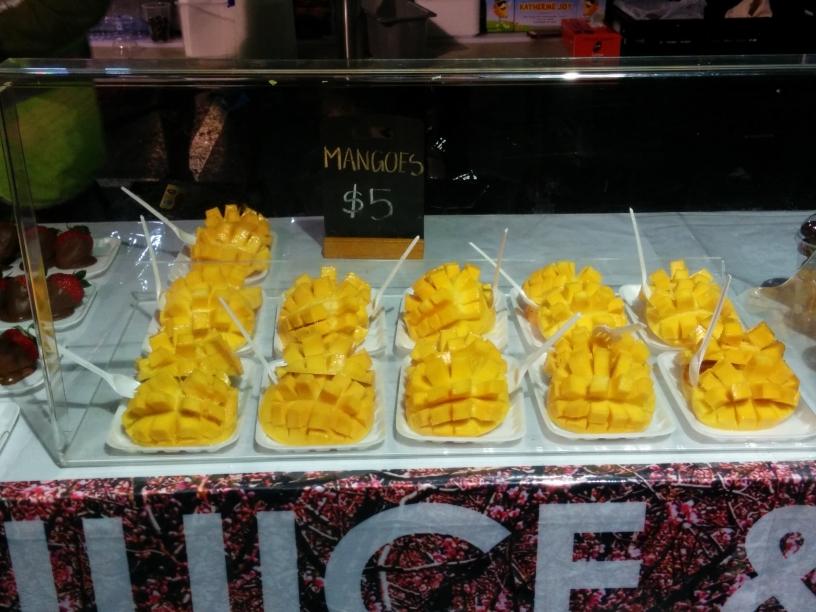 Mangues au Queen Victoria Night Market à Melbourne, Victoria