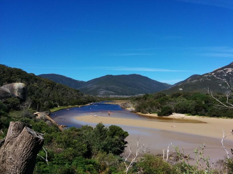 Tidal River dans le Wilsons Promontory national Park, Victoria