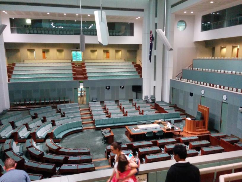 House of the Representatives (équivalent de l'Assemblée Nationale), Canberra, Australian Capital Territory