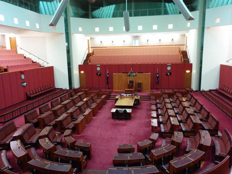 The Senate, Canberra, Australian Capital Territory