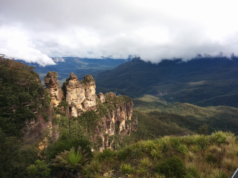 Three Sisters dans les Blue Moutains, Katoomba, New South Wales