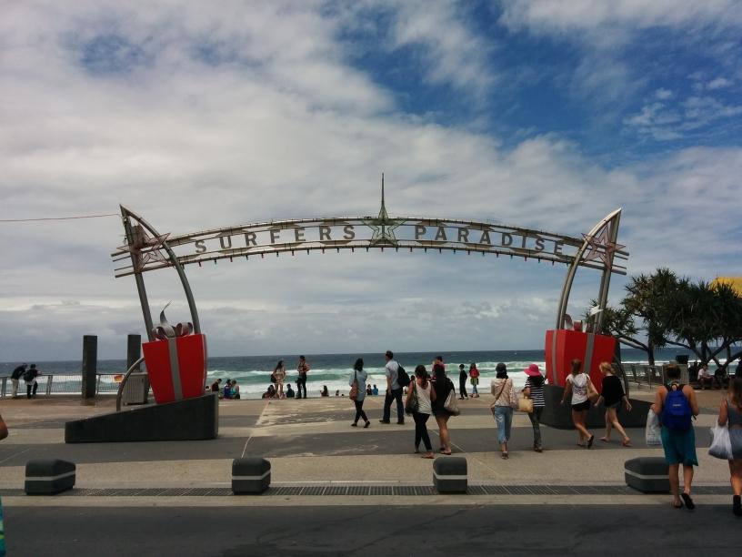 Arche de Surfers Paradise sur la Gold Coast, Queensland