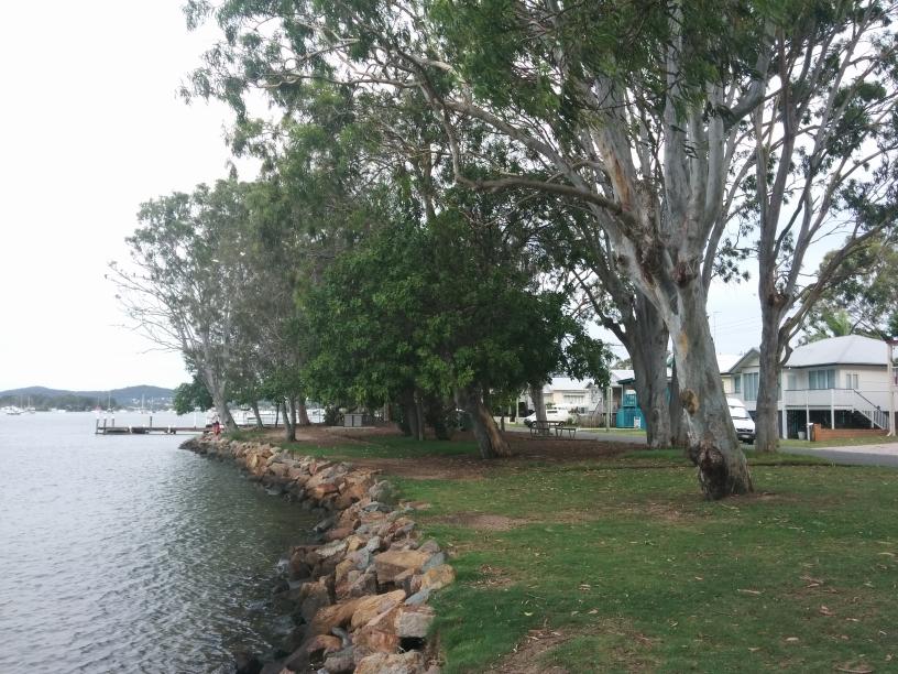 Vue sur l'un des canaux de Noosa, Queensland