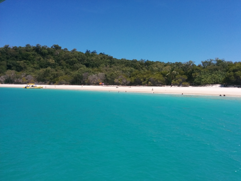 Whitehaven Beach dans les Whitsundays Islands, Queensland