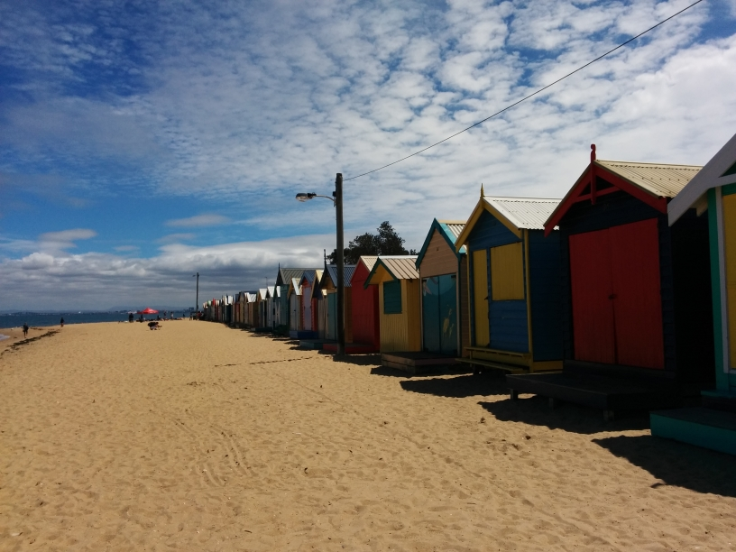 Célèbres cabanons de Brighton Beach, Victoria